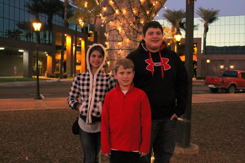Glendale Glitters three