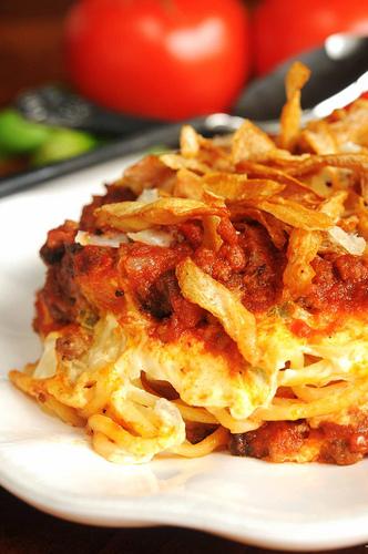 Spaghetti bake
