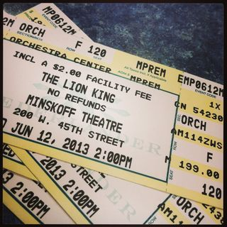 Loin King tickets