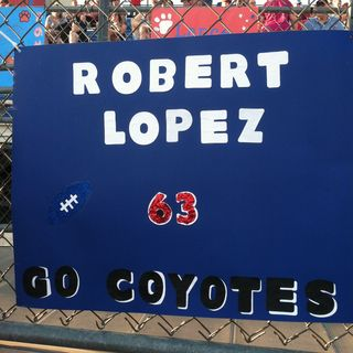 Game day signs