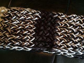 Black grey scarf